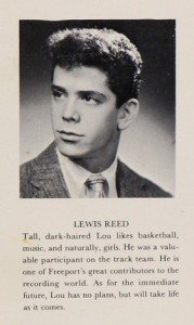 Lou_Reed_HS_Yearbook
