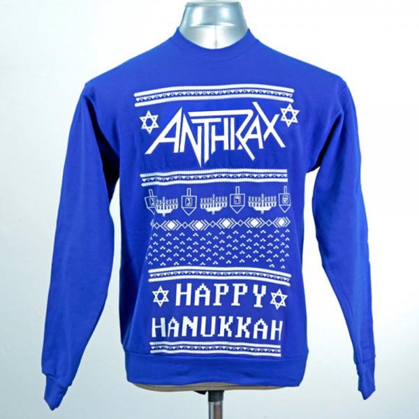 Og Anthrax ønsker Happy Hanukkah.
