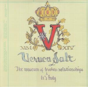 """Den nye 10""""-EP, 'The Museum of Broken Relationships'."""