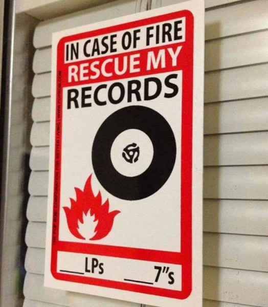 In case of fire