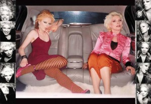 Shirley Manson og Dolly Parton