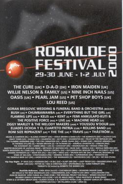 35 års Roskilde-favoritter: 2000