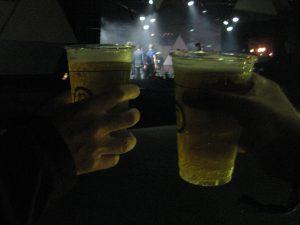 De første øl