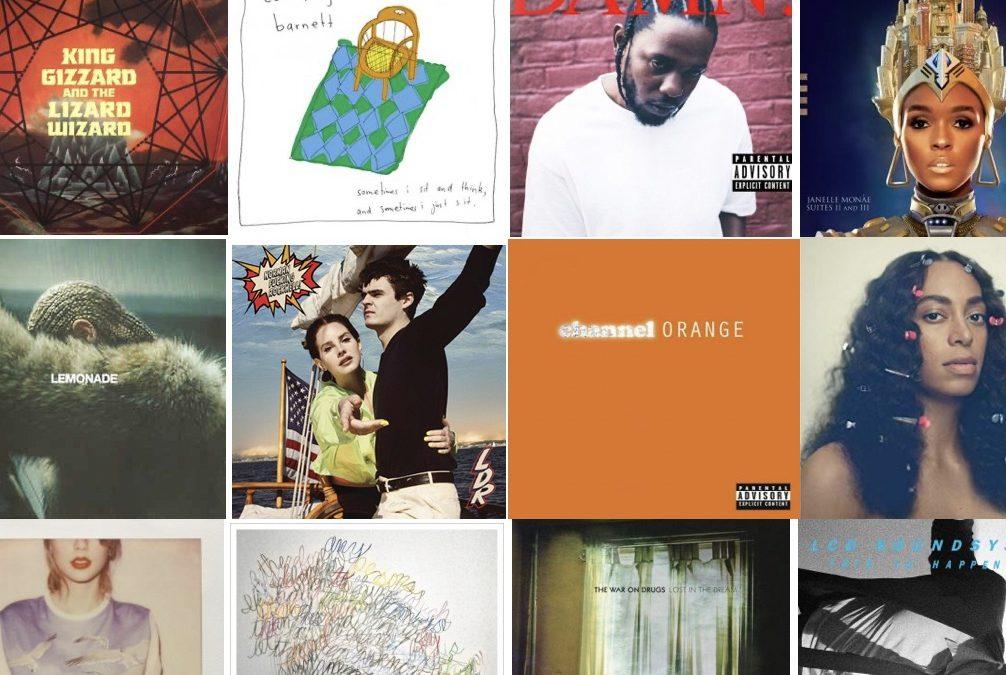 2010'ernes bedste albums – nr. 11-25