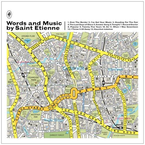 Saint Etiennes sange om sange